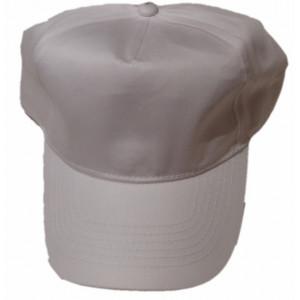 Καπέλο Jockey Μονόχρωμο Άσπρο (Κωδ.161.125.080)