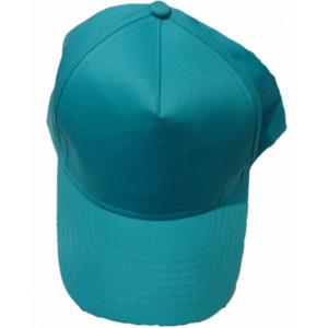 Καπέλο Jockey Μονόχρωμο Τυρκουάζ (Κωδ.161.125.080)