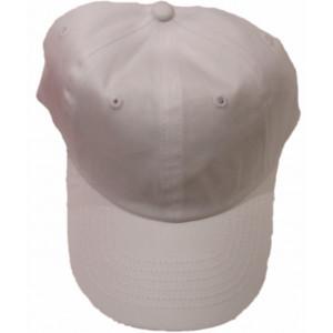 Καπέλο Jockey Μονόχρωμο Άσπρο (Κωδ.161.125.092)