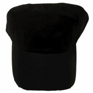 Καπέλο Jockey Μονόχρωμο Μαύρο (Κωδ.161.125.092)