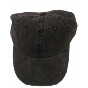 Καπέλο Jockey Πετροπλυμενο Μαυρο (Κωδ.161.125.326)