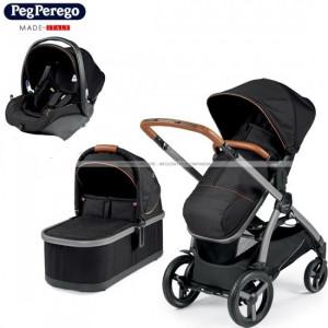 Perego Trio Ypsi (Ebony) με κάθισμα primoviaggio sl & η τσάντα δώρο αξίας 99,00€ (035.097.025)