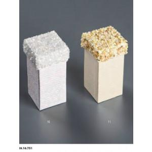 Κουτί Χάρτινο  Με Χάντρες10Χ5cm Rodia 39.10.751(0.0.69)