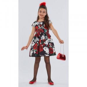 Φόρεμα Κοντό Μανίκι Παιδικό Φλοράλ  Εβίτα 175016