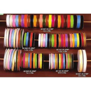 Κορδέλα οργάτζα σατέν 1cm(60-069)