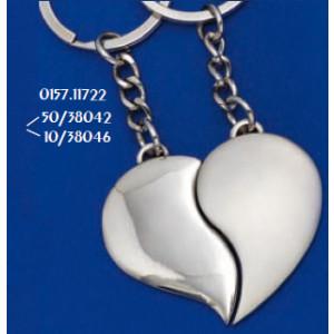 Μπρελόκ Μεταλλικό Καρδιά (Κωδ.0157.11722)