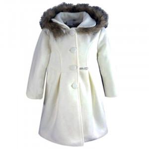 Παλτό Κουκούλα Παιδικό (Εκρού) (#291.005.016+4#)