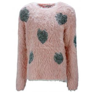 Μπλούζα Πλεκτή Παιδική (Ροζ) (#291.018.002+3#)