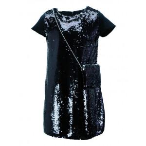 Φόρεμα Πουλιες Παιδικό (Μαύρο) (#291.086.068+13#)