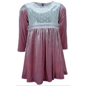 Φόρεμα Βελουτέ Μπεμπέ (Ροζ) (291.086.014)