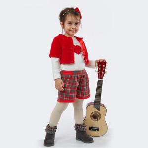 Σετ Κορίτσι Μπολερό Μπλούζα Σορτς Μπεμπέ Εβίτα 291.033.008