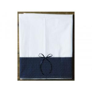 Σετ λαδόπανα πετσέτες με πουά μπλε 20422 orama