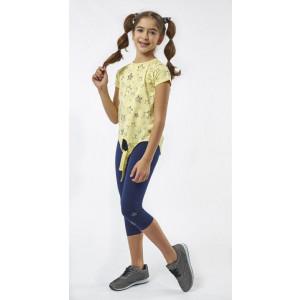Σετ Μπλούζα & Κολάν Παιδικό (Κίτρινο) (#291.060.024+5#)