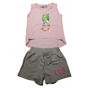 Σετ Μπλούζα & Σορτς Παιδικό (Ροζ) (#291.027.006+3#)