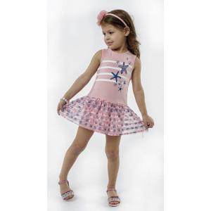 Φόρεμα Μακώ Μπεμπέ Ροζ (#291.087.075+3#)