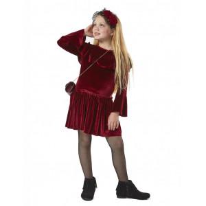 Φόρεμα βελουτέ για κορίτσι Εβίτα  199004