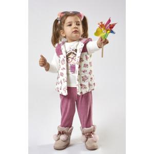 Κορίτσι σετ φόρμα 3 τεμαχίων  Εβίτα 199530