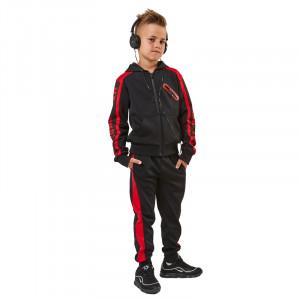 Φόρμα Παιδική 2τμχ Ζακέτα Παντελόνι Μαύρη 291.040.030