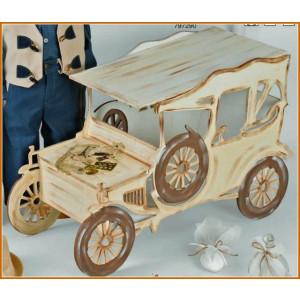 Ξύλινο κουτί αυτοκίνητο (Κ109-1)