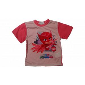Μπλούζα Κ/Μ Πυζαμοήρωες Ροζ (Κωδ.200.010.000)