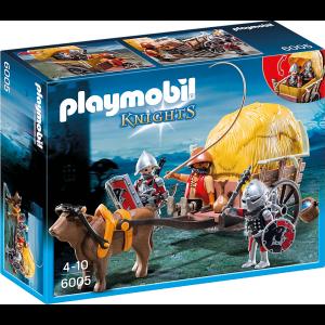 Playmobil Ιππότες του Γερακιού με Κάρο Κρυψώνα 6005 #787.342.190, narlis.gr