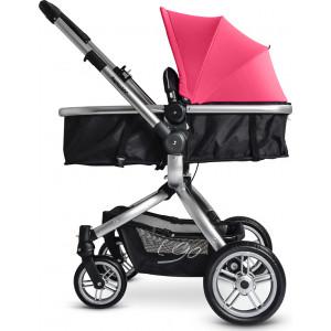 Βρεφικό καρότσι μετατρεπόμενο σε πόρτ μπεμπέ Just Baby-208 I Go Pink με δώρο και δεύτερο Ύφασμα