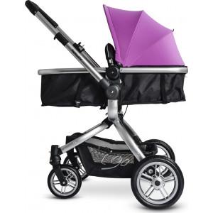 Βρεφικό καρότσι μετατρεπόμενο σε πόρτ μπεμπέ Just Baby-208 I Go Purple