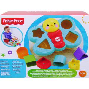 Fisher Price Πεταλούδα με Σχήματα (390.142.069)