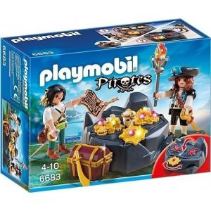 Playmobil Κρησφύγετο Πειρατικού Θησαυρού (6683)