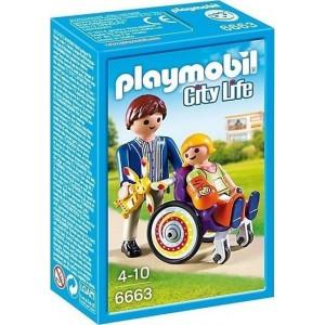 Playmobil Παιδί σε Νοσοκομειακό Καροτσάκι 6663 narlis.gr