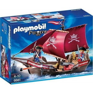 Playmobil, Στρατιωτικό Πλοιάριο Περιπολίας, 6681, πλοίο, παιχνίδι, πειρατές, narlis.gr
