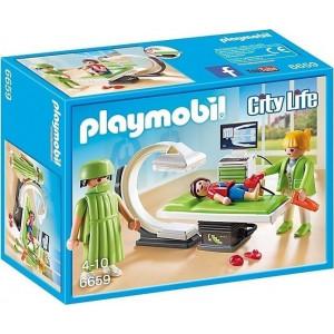 Playmobil Ακτινολογικό Τμήμα Κλινικής 6659 #787.342.208, narlis.gr