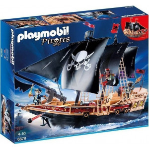 Playmobil Πειρατική Φρεγάτα 6678 Κωδ. 787.342.199