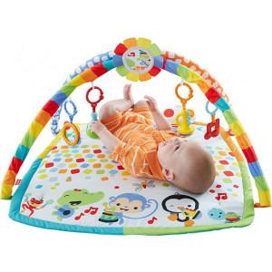 Πολύχρωμο γυμναστήριο με μουσικά όργανα Fisher-Price DFP69 (Κωδ.390.142.007)