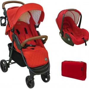 Just Baby Βρεφικό Καρότσι Joe 220 Red.Ρωτήστε για την τιμή (Κωδ.507.97.047)
