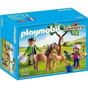 Playmobil Κτηνίατρος με Πόνυ και Πουλάρι 6949 narlis.gr