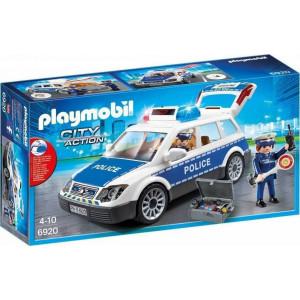 Playmobil Περιπολικό όχημα με φάρο και σειρήνα 6920, παιχνίδι, αγόρι, NARLIS.GR