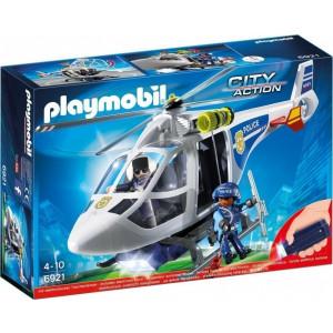 Playmobil Ελικόπτερο Αστυνομίας με προβολέα LED 6921