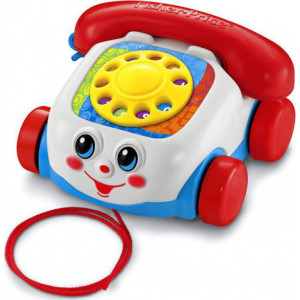 Fisher Price Συρόμενο Τηλέφωνο (390.142.086)