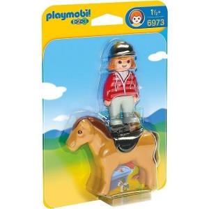 Playmobil Αναβάτρια με Άλογο 6973 narlis.gr