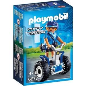 Playmobil Γυναίκα Αστυνομικός με Balance Racer 6877 narlis.gr