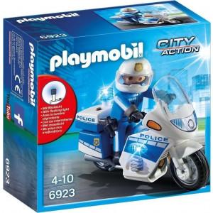 Playmobil Μοτοσικλέτα Αστυνομίας Με Φάρο 6923 #787.342.145, narlis.gr