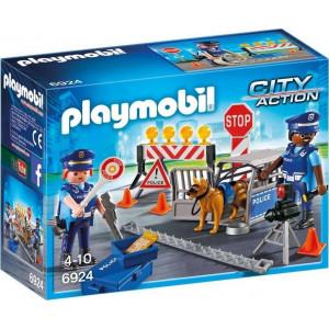 Playmobil Οδόφραγμα Αστυνομίας 6924 #787.342.146, narlis.gr