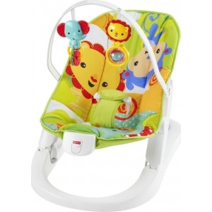 bd7af7a57a9 Fisher Price Rainforest Friends Fun n Fold Bouncer Deluxe (390.73.030)