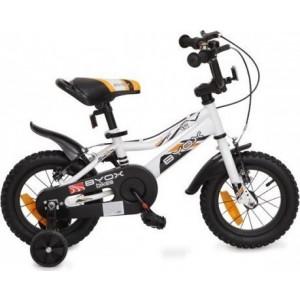 Byox Παιδικό ποδηλατάκι 12'' Prince White narlis.gr