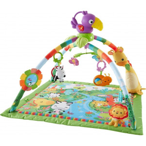 Γυμναστήριο Fisher Price Rainforest Music Deluxe (390.142.041)