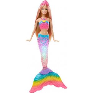 Barbie Γοργόνα Με Μαγική/Φωτεινή Ουρά (DHC40)