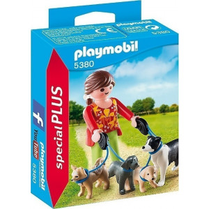 Playmobil Εκπαιδεύτρια Σκύλων 5380 narlis