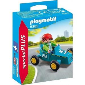 Playmobil Αγοράκι Με Go Kart 5382 narlis