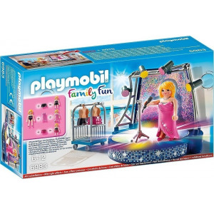 Playmobil Τραγουδίστρια σε Disco Stage 6983 #787.342.155, narlis.gr